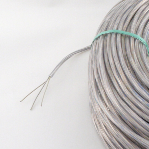 Kabel, 3x0,75mm², rund, transparent
